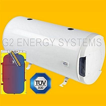 125 Liter L calentador de agua calentador de agua Horizontal doble de abrigo de intercambiador de