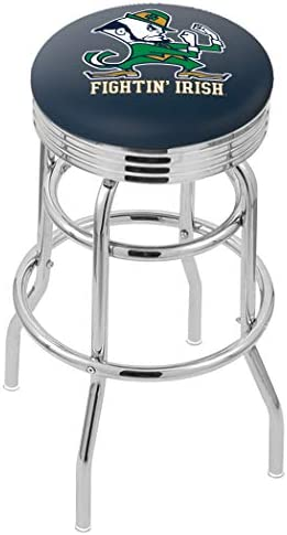NCAA Notre Dame Fighting Irish, Leprechaun 30 Bar Stool