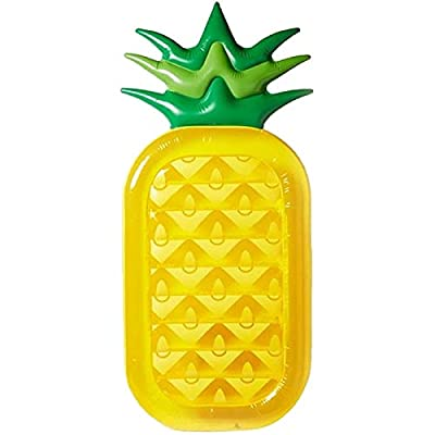 Inflatable Pineapple Floats Summer Outdoor Swimming Pool Floats: Toys & Games