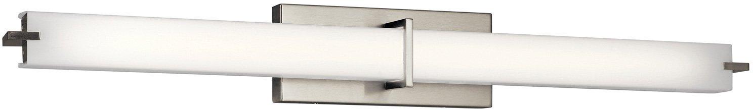 Kichler 11147NILED 37.5 LED Linear Bath Vanity Brushed Nickel