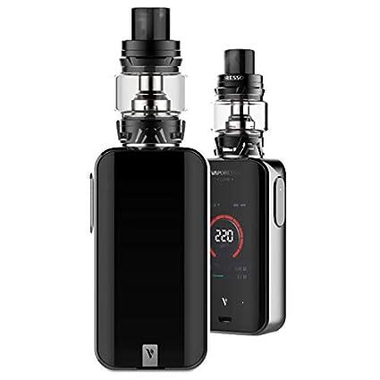 Vaporesso Luxe-S Kit ,Cigarrillo Electrónico Vaping Kit 220W Box Mod Atomizador SKRR 8ml Tank E-Cig Vapor - Sin Nicotina y Sin Elíquido (Negro)