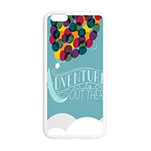 Adventure Is Out There Back Cover TPU For iphone 6 (5.5 inch), Custom iphone 6 plus Case by ruishername
