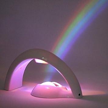 SEEM® Romántico Rainbow LED proyector luz Nocturna de Estado de ...
