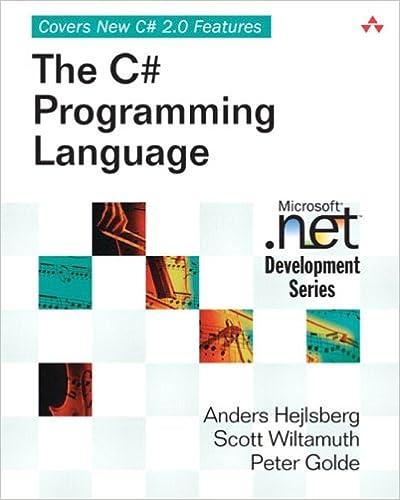 the c programming language microsoft net development series anders hejlsberg scott wiltamuth peter golde 0785342154917 amazoncom books