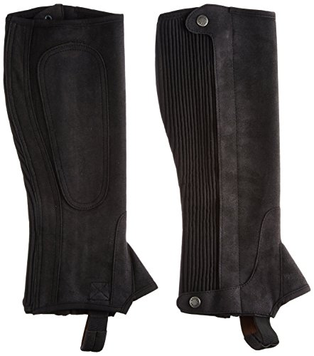 Adults Plain Half Chaps by Shires
