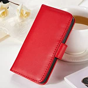 10 pcs/lot Luxury Wallet Style PU leather case for iPhone 4 4S 4g Flip With Stand + 2 Credit Card Holder + 1 Photo Frame --- Color:pink