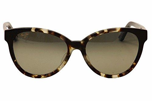 b880f5a054c2ce Amazon.com  Maui Jim Women s Sunshine White Tokyo Gloss Black Neutral Grey  Sunglasses  Shoes