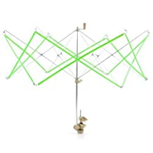 FOME Knitting Umbrella Plastic Metal Swift Wool Yarn String Winder Holder Hanks Skeins Line