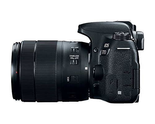 Canon EOS 77D 24.2MP Digital SLR Camera + EF-S 18-135 mm 3.5-5.6 is USM Lens with 16 GB Card Inside and Camera Case 6