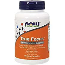 NOW True Focus,90 Veg Capsules