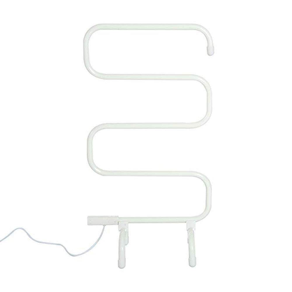 GLgl Curva de toallero portátil Libre de pie calienta Toallas Calentador de bajo Consumo de energía Toalla radiador con Barras Calientes: Amazon.es: Hogar
