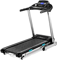 SereneLife Foldable Digital Home Gym Treadmill   Smart Auto Incline Exercise Machine With Downloadable App   L