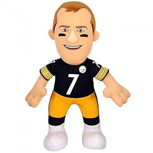 Nfl Pittsburgh Steelers Ben Roethlisberger Plush Doll  Black  10