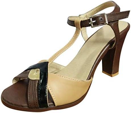 Zapatos Con Tacon y Correa De Tobillo Para Mujer, Roma Mujer ...