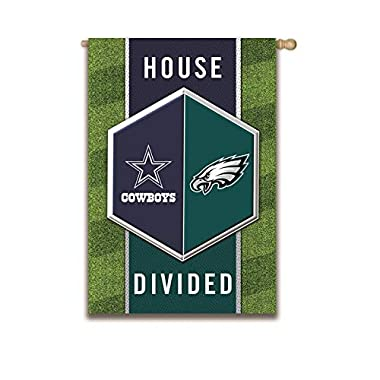 Team Sports America House Devided Flags