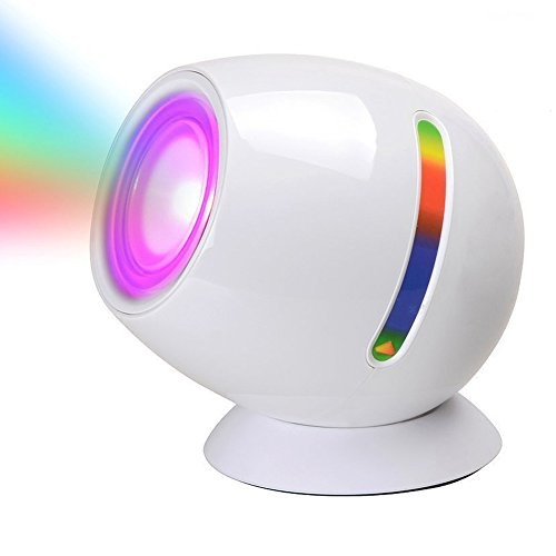 - LED Light Touch Sensor Living 256 Color Changing Mood Light Atmosphere Lamp Projection Night Light with Built-in Rechargeable Battery for Bar,Party,Holiday Kids Children Room Decoration