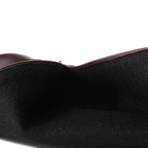 Leather Black Platform Boots Ladies Imitated Tassels BalaMasa Dance Ballroom TBg1wO