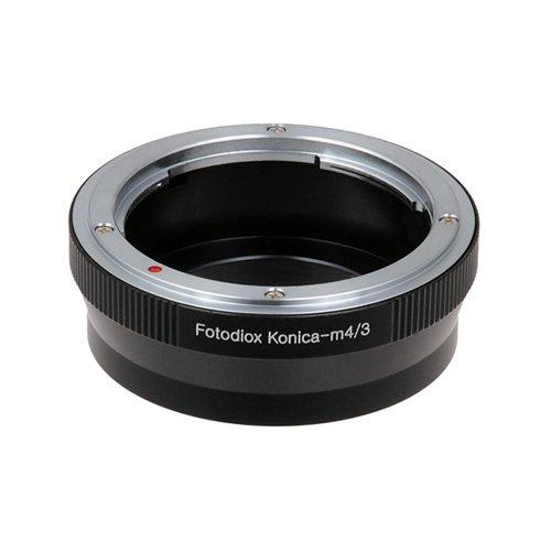 Fotodiox Lens Mount Adapter - Konica Auto-Reflex (AR) SLR Lens to Micro Four Thirds (MFT, M4/3) Mount Mirrorless Camera Body