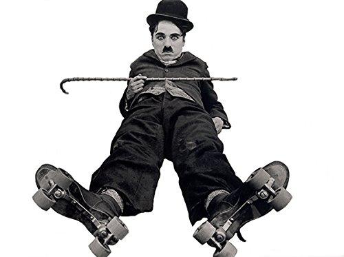Charlie Chaplin - The Rink - Movie Still Poster - Chaplin Movie Poster