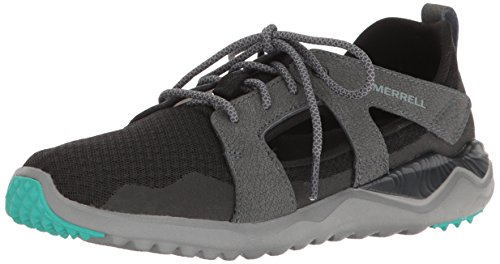 Merrell Women's 1SIX8 Slice Fashion Sneaker, Black, 11 M US Merrell Women Footwear Sneakers