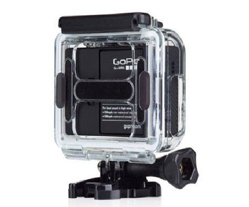 Skeleton Protective Housing, Side-opening & Backdoor w/ hole for GoPro Hero 3