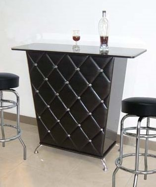 Amazon.com: Designer Black Whine Alcohol Wine Bar Counter Table ...