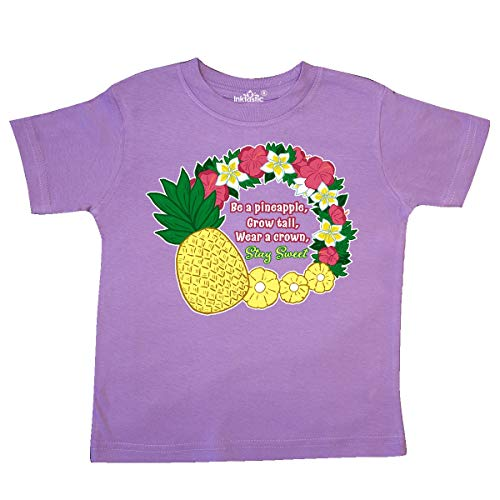 inktastic - Pineapple and Flower Lei-Be a Toddler T-Shirt 4T Lavender 361ff