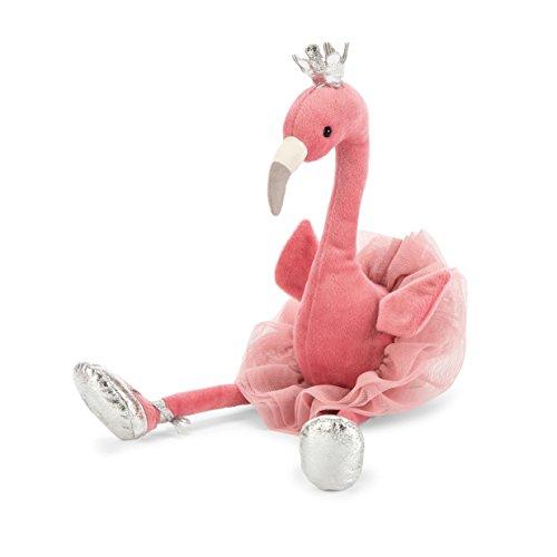 Jellycat Fancy Flamingo Stuffed Animal, 15 inches