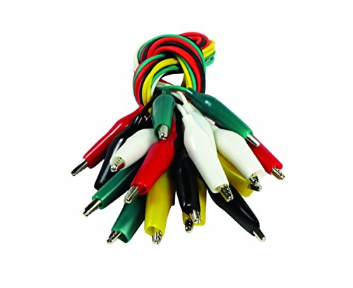 10 Piece 1 Light (SE TL10 10-Piece Test Lead Set with Alligator Clips)