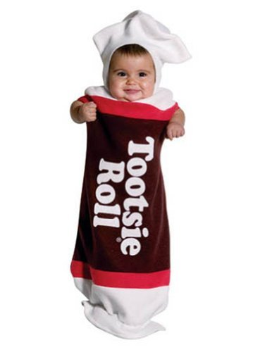 3-9 Months - Tootsie Roll Baby Bunting Costume