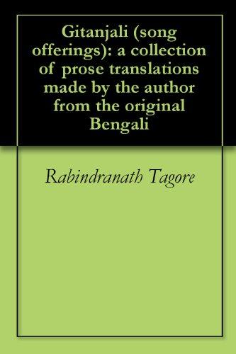 In tagore gitanjali pdf rabindranath bengali by