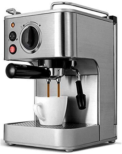 Nuokix Doméstico Semi Aautomatic máquina de Espresso 19Bar Cafetera Italiana Doble Control de la Temperatura de Vapor de…
