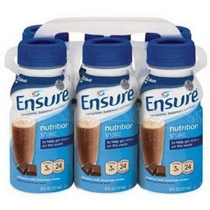 Ensure Creamy Milk Chocolate Shake, 6 - 8 oz