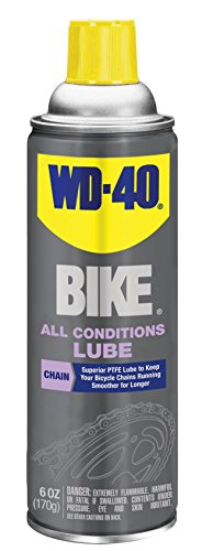 Chain Lubricant - WD-40 Bike Chain Lube, Bike Wash, Chain Cleaner & Degreaser, Dry Lube, Wet Lube