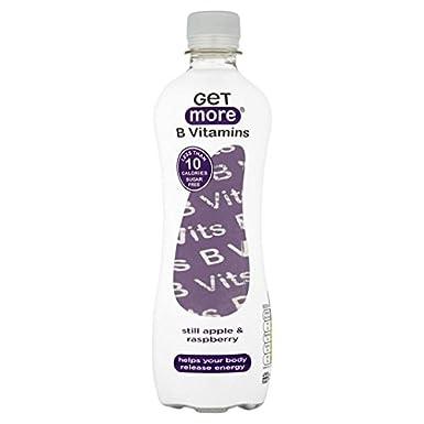 Obtener Más Todavía Vitaminas B Agua de manzana y frambuesa ...