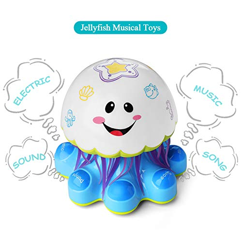 Electronic Baby Activity Jellyfish Dancing and Musical Toys