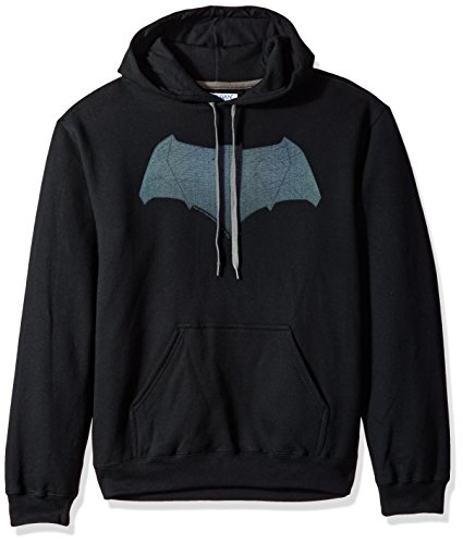Trevco Men's Vs. Superman Batman Logo Hoodie Sweatshirt at Gotham City Store