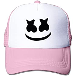 Unisex mesh baseball cap Marshmello face Trucker Hat (5 colours)