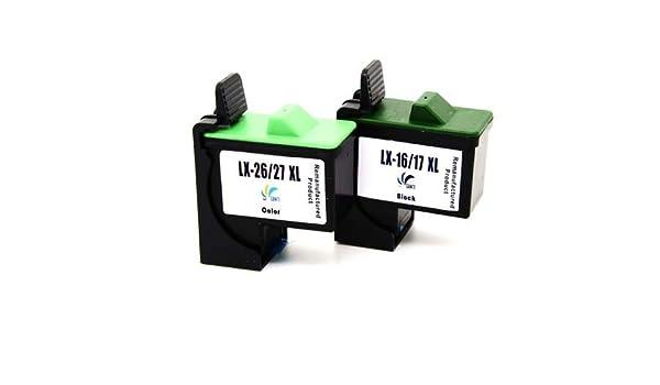 Remanufacturado cartuchos de tinta compatible para Lexmark 16 26 ...