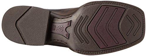 Ariat Menns Live Wire Western Cowboy Boot Sjokolade / Vintage Sort