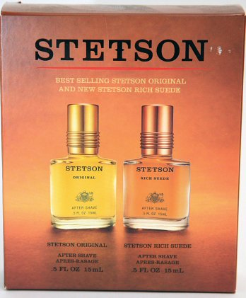 Stetson Original After Shave and Rich Suede Ater Shave 0.5 Ounce Set (Set Stetson Gift)