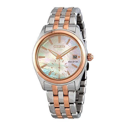 Citizen Watches Women's EV1036-51Y Eco-Drive Two-Tone One Size