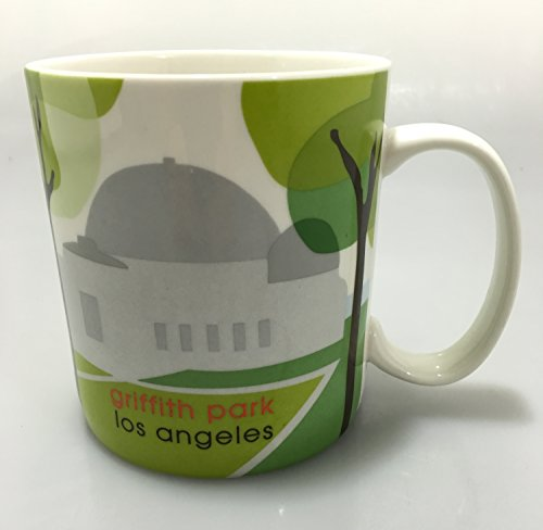 Starbucks Griffith Park Los Angeles Observatory Coffee Mug 18 ounce 2007