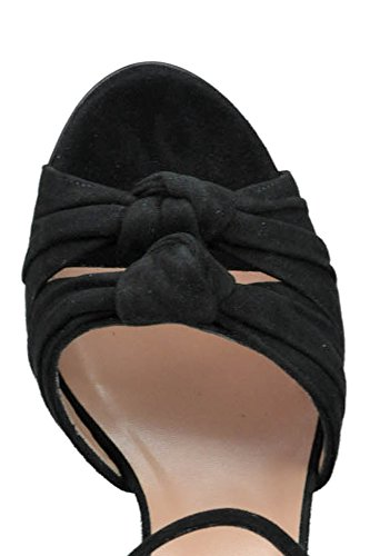 Women's MCGLCAT03126E Sandals Twin Suede Set Black w54xxqY7