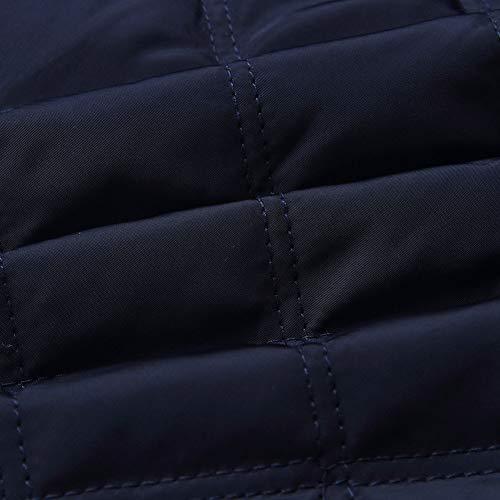 Longues Manteaux Veste À Patchwork Fermeture Unie z Couleur Éclair Bleu Décontractée Pour Manches Qiyun Femmes wzgBxqOFS