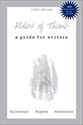 Rules of Thumb: A Guide for Writers, 5th Edition
