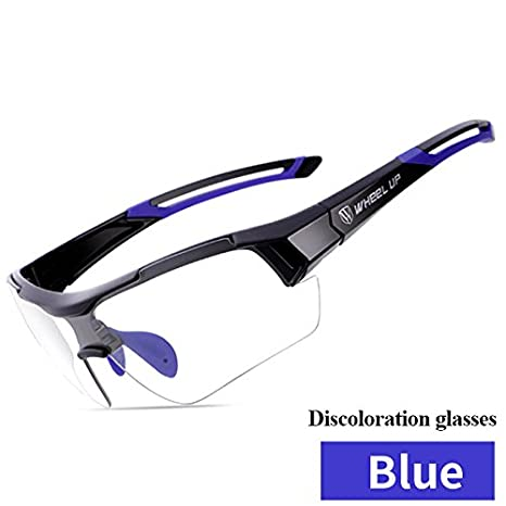 832663da7003 Eleoption Sports Sunglasses Photochromic Cycling Glasses Discoloration Glasses  MTB Road Bike Sport Sunglasses Anti-UV