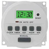 CAMDEN MARKETING CX24724 7DAY PROGRAMABLE TIMER 24VOLT AC/DC
