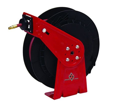 National-Spencer 1458NS Air and Water Hose Reel, 300 psi Hose, 3/8'' x 50' by National-Spencer, Inc.
