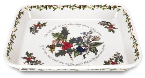 Portmeirion Holly and Ivy Lasagne Baker by Portmeirion